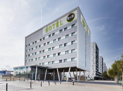 B&B Hôtel à côté de l'aéroport de Barcelone-El Prat