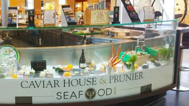 Caviar House & Prunier spécialités de la mer à Paris-Charles De Gaulle