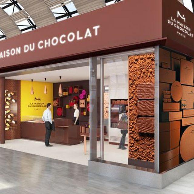 La Maison du Chocolat : shopping gastronomique à Paris-Charles De Gaulle