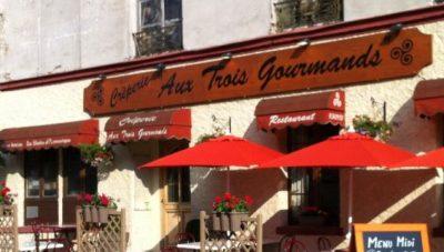 Aux Trois Gourmands, restaurant, crêperie à Roissy