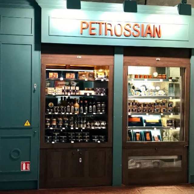 Petrossian : shopping gastronomique à Paris-Charles De Gaulle