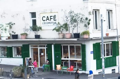 Café l'Ecomotive Cantine et coworking à Marseille Saint Charles