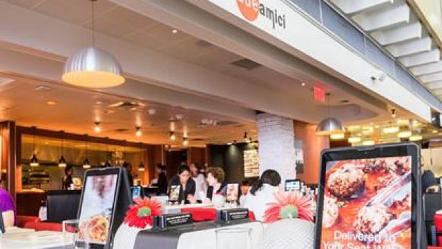 Due Amici, restaurant à l'aéroport JFK à New York