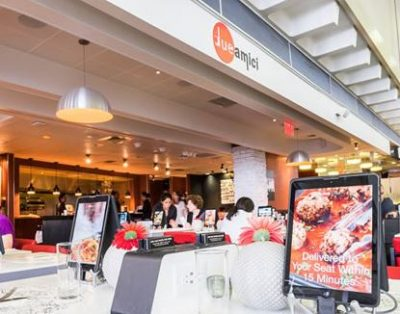 Due Amici, restaurant à l'aéroport JFK à New York
