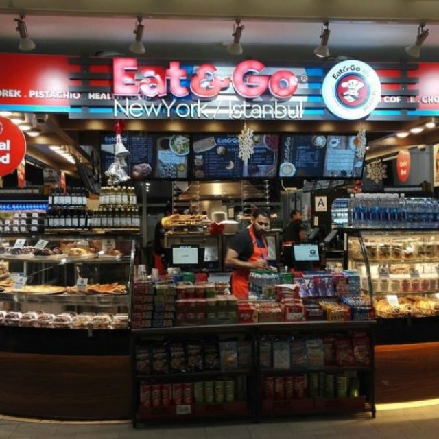 Eat & Go Istanbul, restauration rapide à l'aéroport JFK à New York