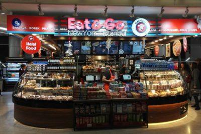 Eat & Go Istanbul, restauration rapide à l'aéroport JFK à New York