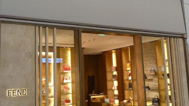 Fendi : shopping de luxe, mode & accessoires à Paris-Charles De Gaulle