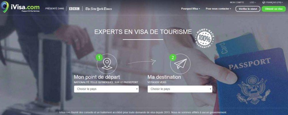 iVisa.com, la plateforme qui vous délivre votre visa enligne