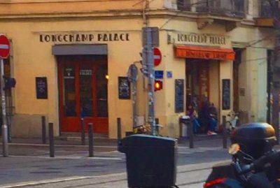 Longchamp Palace bar restaurant Marseille Saint Charles