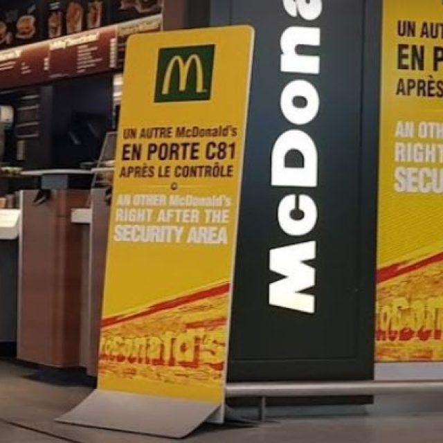 Fast Food Mc Donald's à Paris-Charles De Gaulle