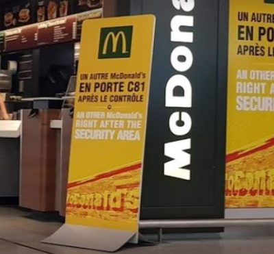 Fast Food Mc Donald's à Paris-Charles De Gaulle