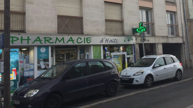 Pharmacie Haiti à 3 mn à pied de la gare Marseille Blancard
