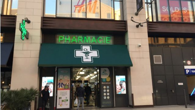 Pharmacie des Terrasses du Port à 30 snde du port de La joliette