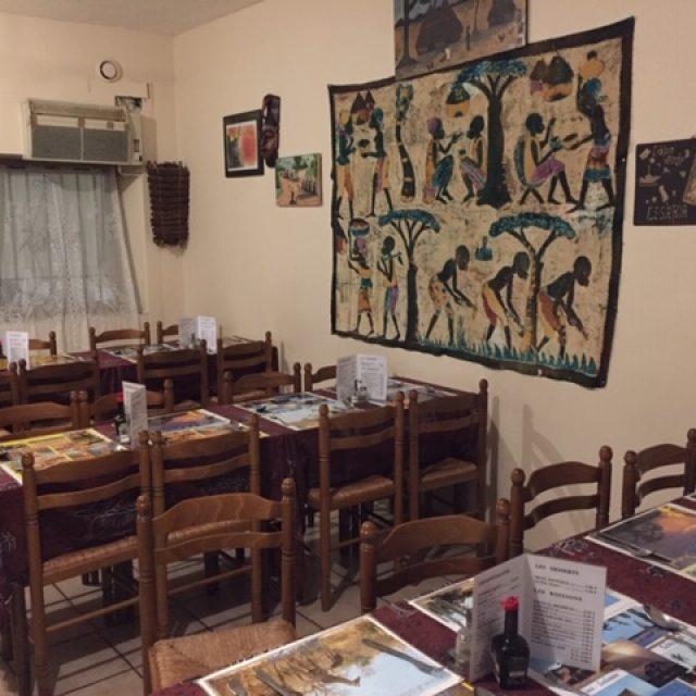 Restaurant Africain le Baobab à côte de la gare Saint Charles à Marseille