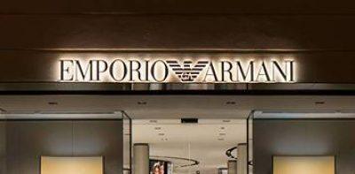 Emporio Armani : shopping de luxe, mode & accessoires à Paris-Charles De Gaulle
