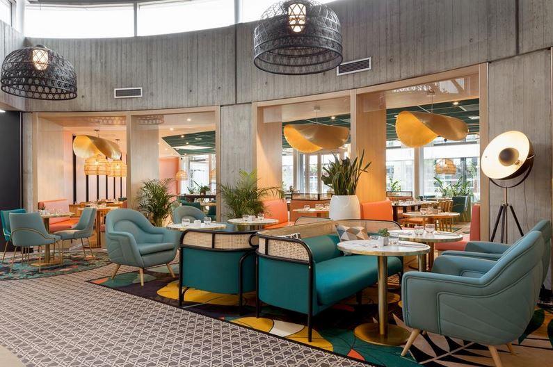 Restaurant Novotel aéroport Paris Charles de Gaulle à 1mn à pied